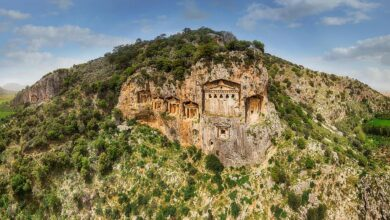 Photo of Have you visited these ancient cliffside tombs in Turkey yet?